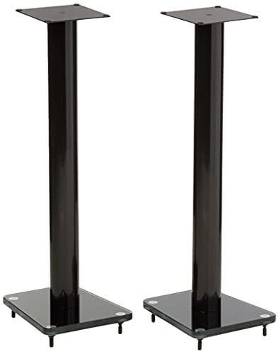 TransDeco Speaker Stands, 32', Black