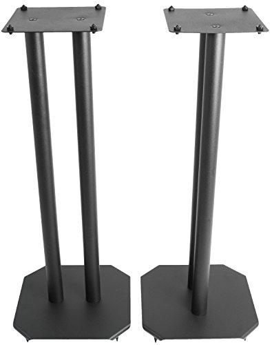 VIVO Premium Universal 25 inch Floor Speaker Stands for Surround Sound and Book Shelf Speakers...