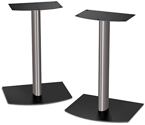 Bose 31089 FS-1 Bookshelf Speaker Floor Stands (pair) - Black and Silver
