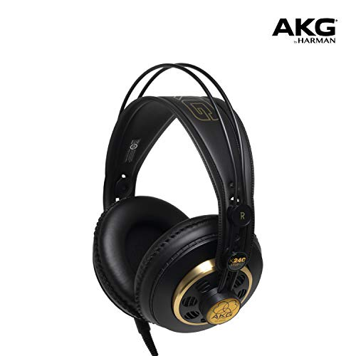 AKG Pro Audio K240 STUDIO Over-Ear, Semi-Open, Professional Studio Headphones