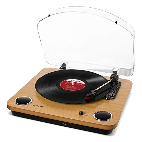 ION Audio Max LP – Vinyl Record Player / Turntable with Built In Speakers, USB Output for...
