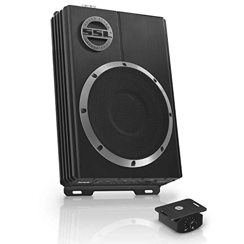 Sound Storm Laboratories LOPRO8 Amplified Car Subwoofer - 600 Watts Max Power, Low Profile, 8...