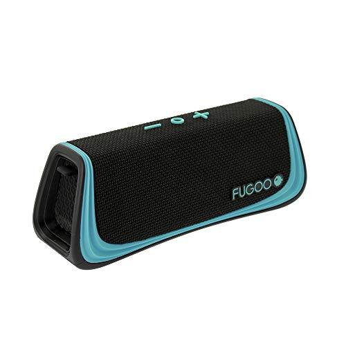 Fugoo Style S 100% Waterproof Bluetooth Speaker - Portable Snow/Shock Proof - IP67-Rated -...