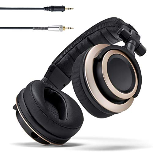 Status Audio CB-1 Closed Back Studio Monitor Headphones with 50mm Drivers - For Music...