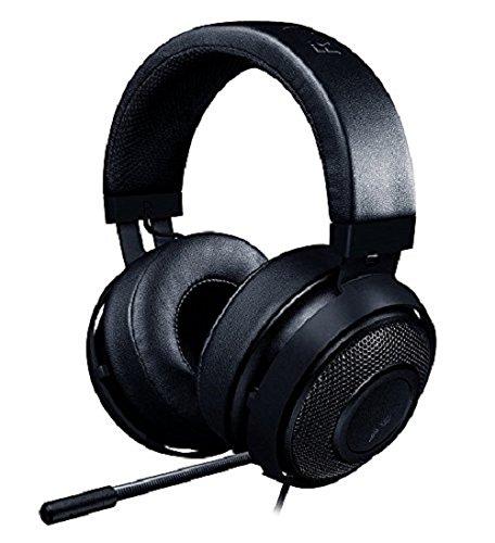 RAZER Kraken PRO V2: Lightweight Aluminum Headband - Retractable Mic - in-Line Remote - Gaming...