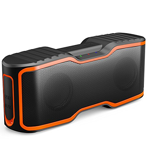 AOMAIS Sport II Portable Wireless Bluetooth Speakers 20W Bass Sound, 15H Playtime, Waterproof...
