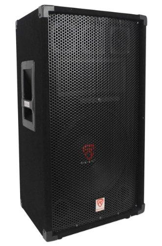Rockville RSG12 12' 3-Way 1000 Watt 8-Ohm Passive DJ/Pro Audio PA Speaker