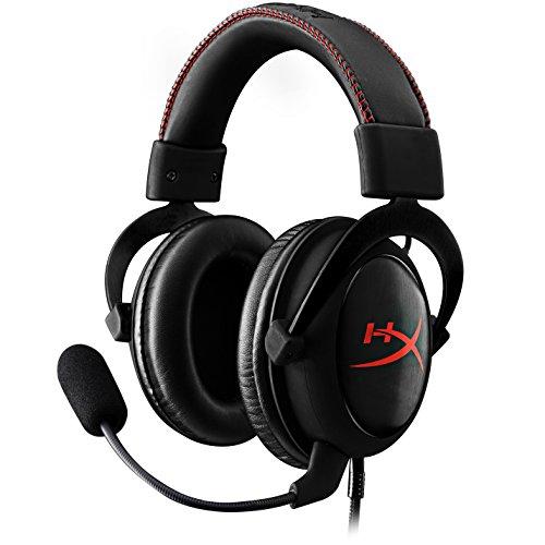 HyperX  (KHX-HSCC-BK) Cloud Core Gaming Headset - Durable Aluminum Frame - 53MM Drivers -...