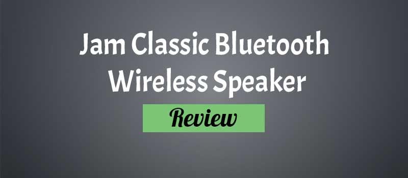 Jam Classic Bluetooth Wireless Speaker