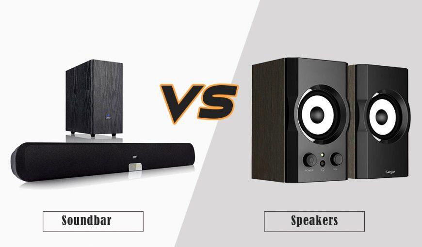 Soundbar vs Speakers